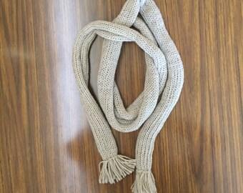 Alpaca scarf - skinny