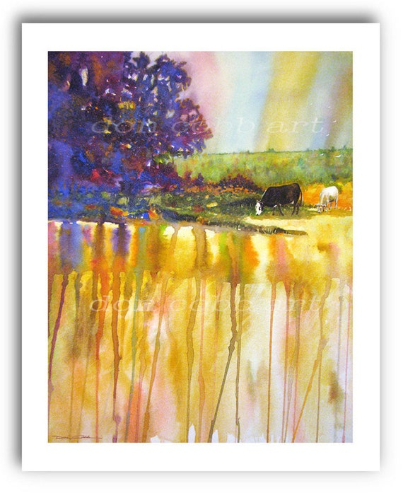 Cow Art Sand Valley Cows Prints Signed And