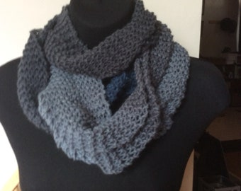 Acrylic Blend Skinny extra long wrap scarf
