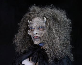 Night Queen - Silicone Half Mask Female White Walker Cosplay Game of Thrones