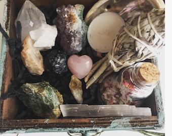 Heartbreak/Breakup and healing crystal healing set