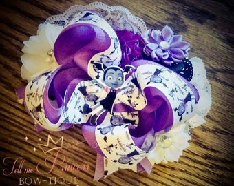 Vampirina over the top stacked boutique bow