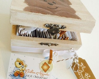 Children's cards for presentation with box
