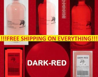 PREMIUM Dark-Red Glow In The Dark POWDER (Not-ENCAPSULATED) (Photoluminescent Pigment)
