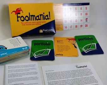 Foolmania/The Cutthroat Stock Market Game That Teaches You Nothing/2-4 Players/Adults/Full Instructions Included (H)