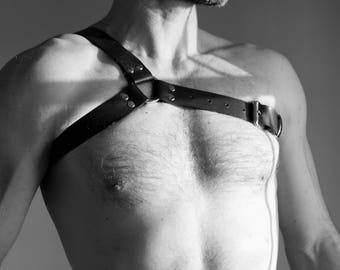 "NEW ""And THE"" leather Fetish harness"