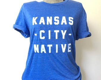 Kansas City Native Tee - Royal