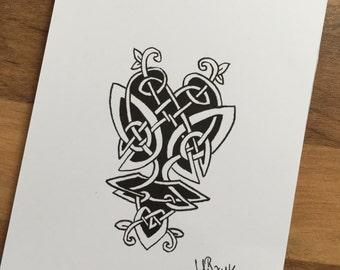Celtic Print