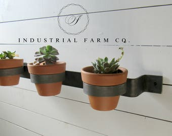 Wall Mounted Planter  Perfect For Flowers/succulents/herbs Indoor And  Outdoor 5 Lengths