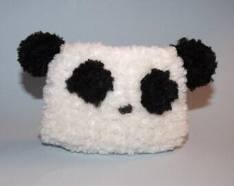 Panda Bear Gift Bag or Knitted Decoration Gift Card Holder Treat Bag