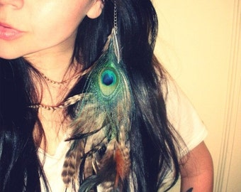 Native Clip in Feather Extension