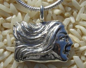 Unique Sterling Silver Cameo
