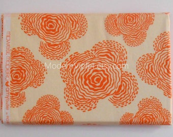 1.25 Yards Amy Butler Floating Buds in Linen Midwest Modern for Rowan Fabric, Floral Rare OOP VHTF Destash