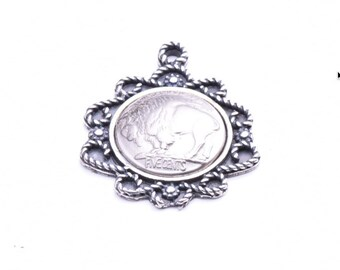 Buffalo Nickle Pendant, P4047CS