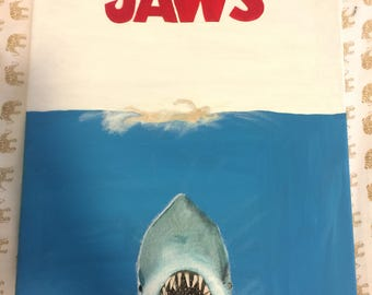Hand Painted Jaws Canvas