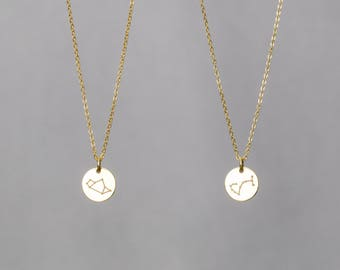 Best Friend Necklace / Birthday Necklace / Bridesmaid Necklace / Zodiac Necklace / Astrology Necklace / Zodiac Sign Necklace
