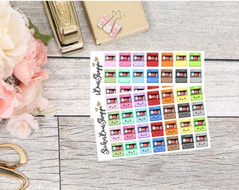 Dishwasher Planner Stickers - For Erin Condren Life Planner or Happy Planner