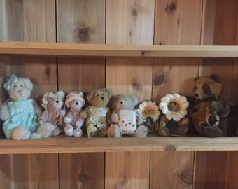 Spring collection Boyds Bears lot