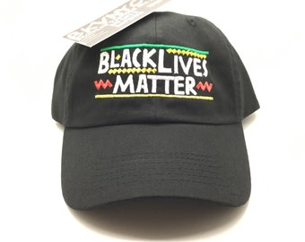 Black Lives Matter Multi Dad Cap Hat