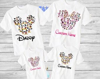 Family disney world shirts 2018, Disney Family Shirts, Matching Family Disney Shirts, Personalized Disney Shirts for Family  2018 des52