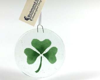 Shamrock Ornament, Clover, Irish Ornament, Celtic, Celtic Design, Sun Catcher