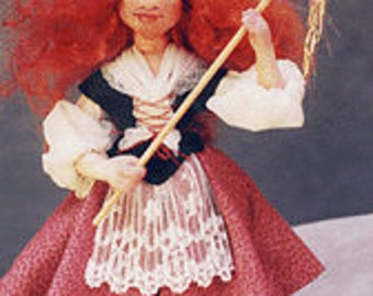 Vasalisa Intuition-In-Your-Pocket Doll Cloth Pattern