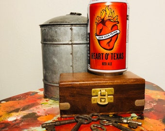 If You're Gonna Play In Texas- Pecan Pie scented craft beer can soy candle