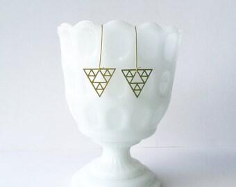 Sierpinski Triangle Earrings | ATL-E-115