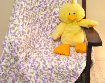 Light Purple Baby Blanket