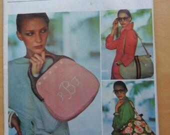 Vogue Handbags pattern 1406
