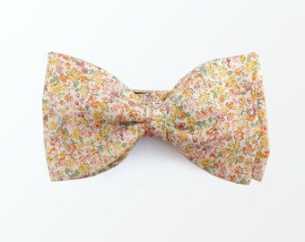 Liberty London Style Bow Tie, Floral Bowtie Gift for Men and Wedding / READY TO SHIP