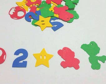Super Mario Brother Party Confetti