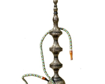 Brass Metal Hookah XL