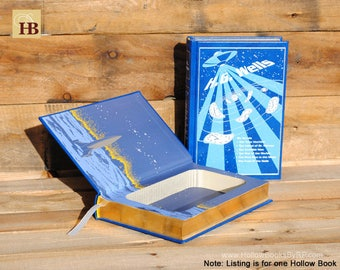 Hollow Book Safe - H.G. Wells Collection - Leather Bound
