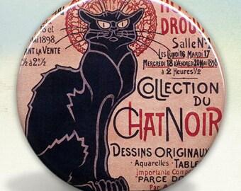 Chat Noir Kitty pocket mirror tartx