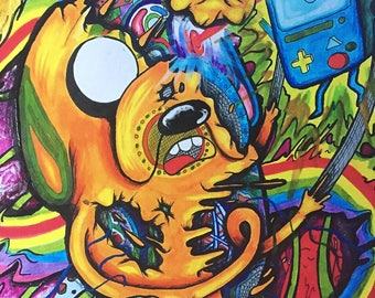 Jake Artwork Print