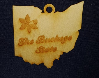 Ohio the Buckeye State ornament