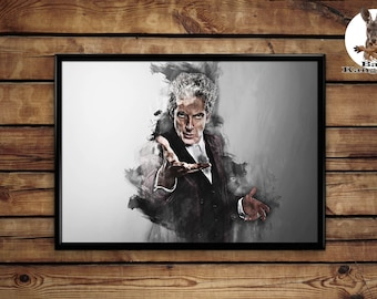 Doctor Who poster wall art home decor