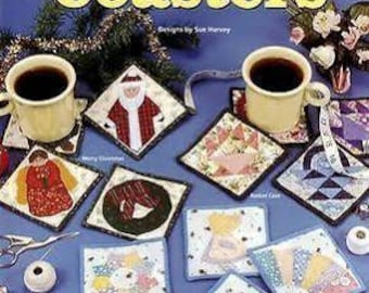 Quilted Coasters - Designs by Sue Harvey