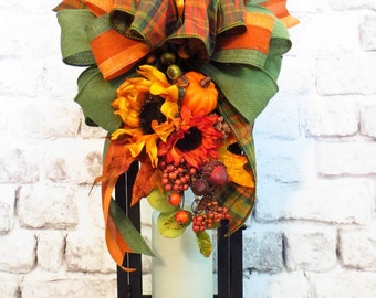 Fall Lantern Swag, Lantern Swag, Fall Decor, Autumn Decor, Thanksgiving Decor