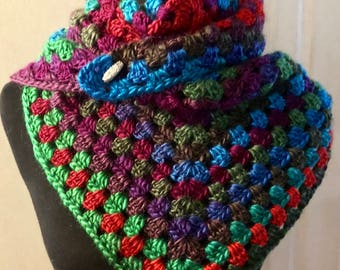 Triangle Apple Orchard Scarf