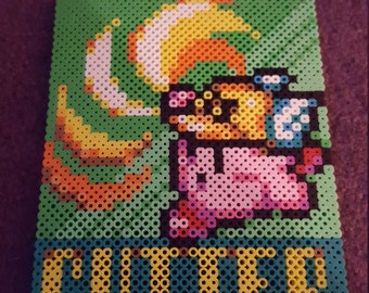 Cutter Kirby ability icon perler sprite