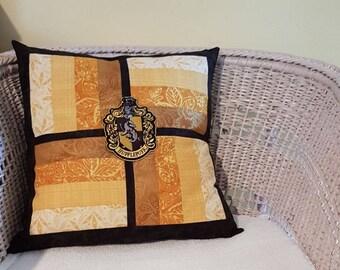 Hufflepuff House Cushion