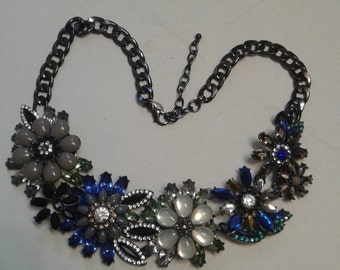 Joan Rivers Chunky Floral Necklace