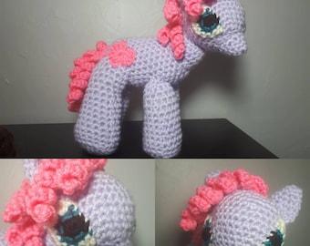 My little pony amigurumi stuffy