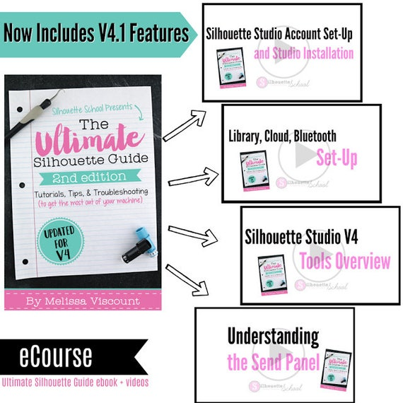The ultimate silhouette guide tutorials tips troubleshooting ebook second edition for current v4 software fandeluxe Gallery