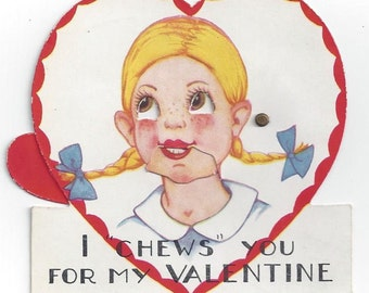 Mechanical Valentine 1930's
