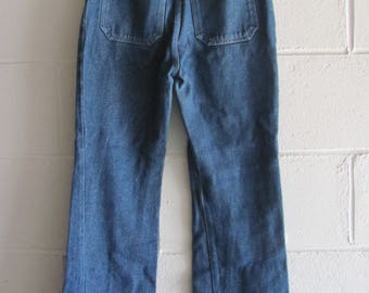 Vintage Girls 90s TOmmy Hilfiger Glitter Flare Jeans