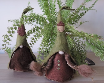 Nordic Gnome, Tomte, Nisse, Tonntu, Forest, Woodland