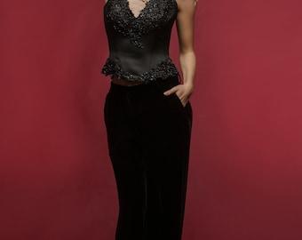Exclusive black corset from ТМ «Konstantin Miro by FashionArt»